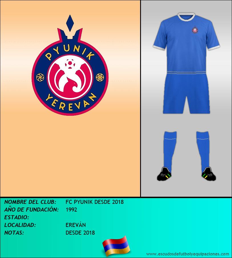 Escudo de FC PYUNIK DESDE 2018
