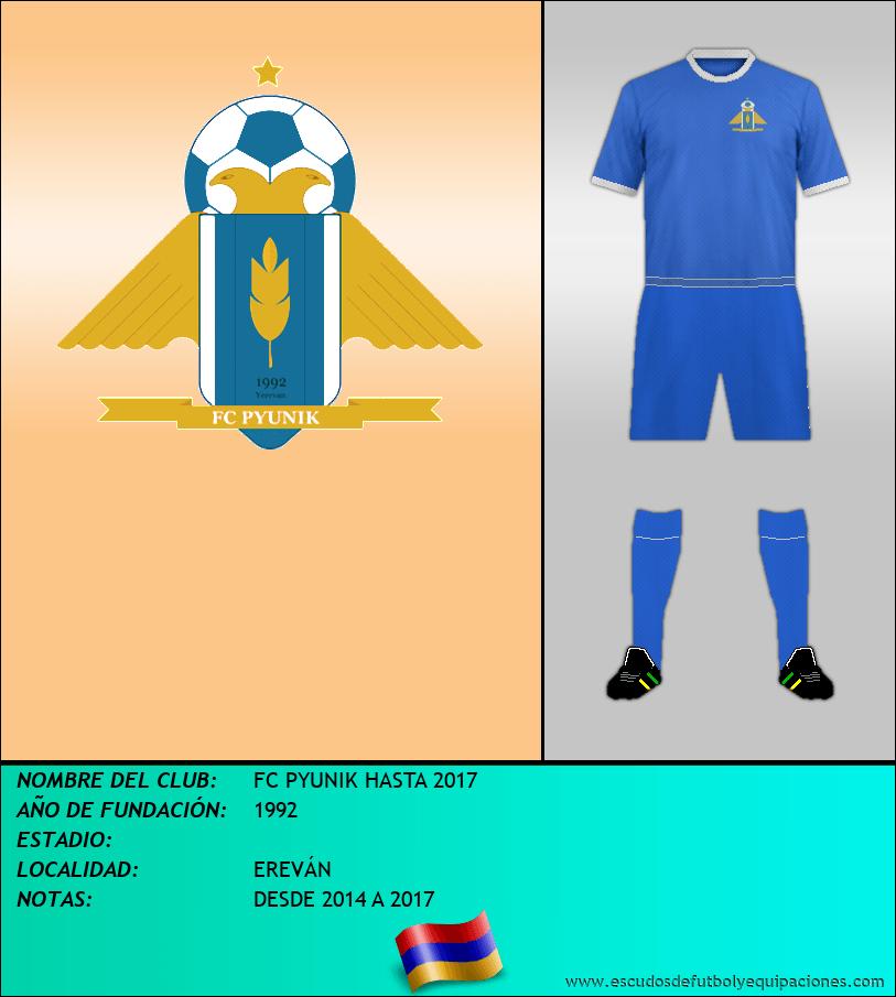 Escudo de FC PYUNIK HASTA 2017