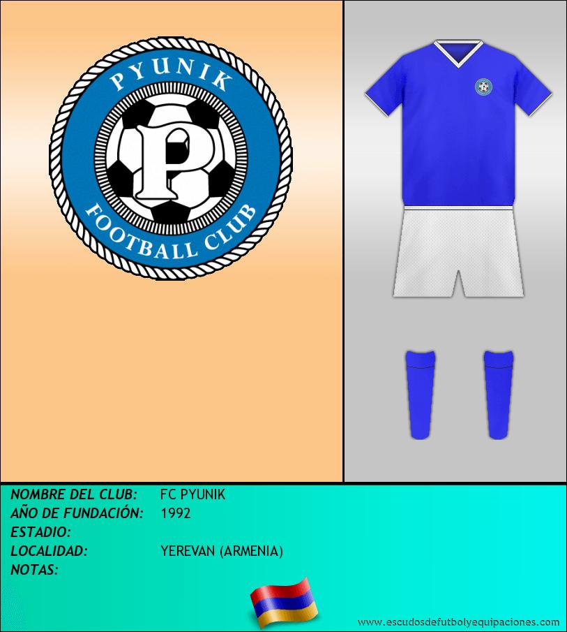 Escudo de FC PYUNIK