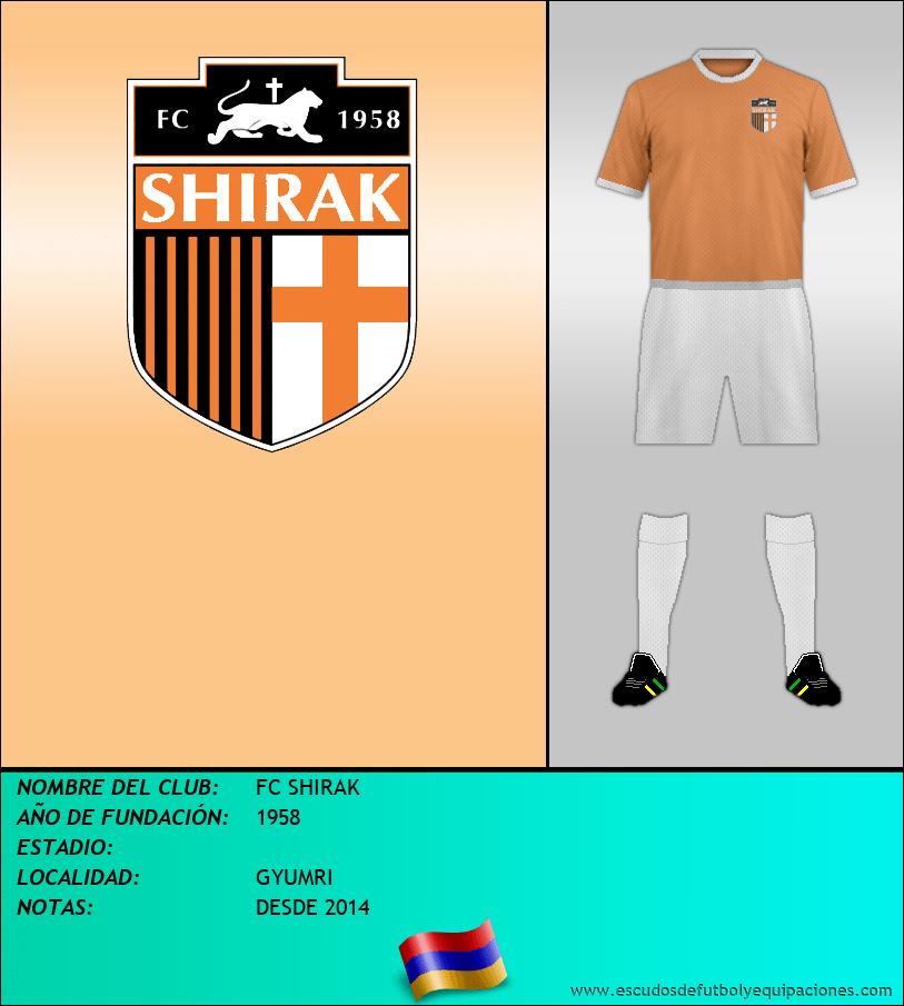 Escudo de FC SHIRAK