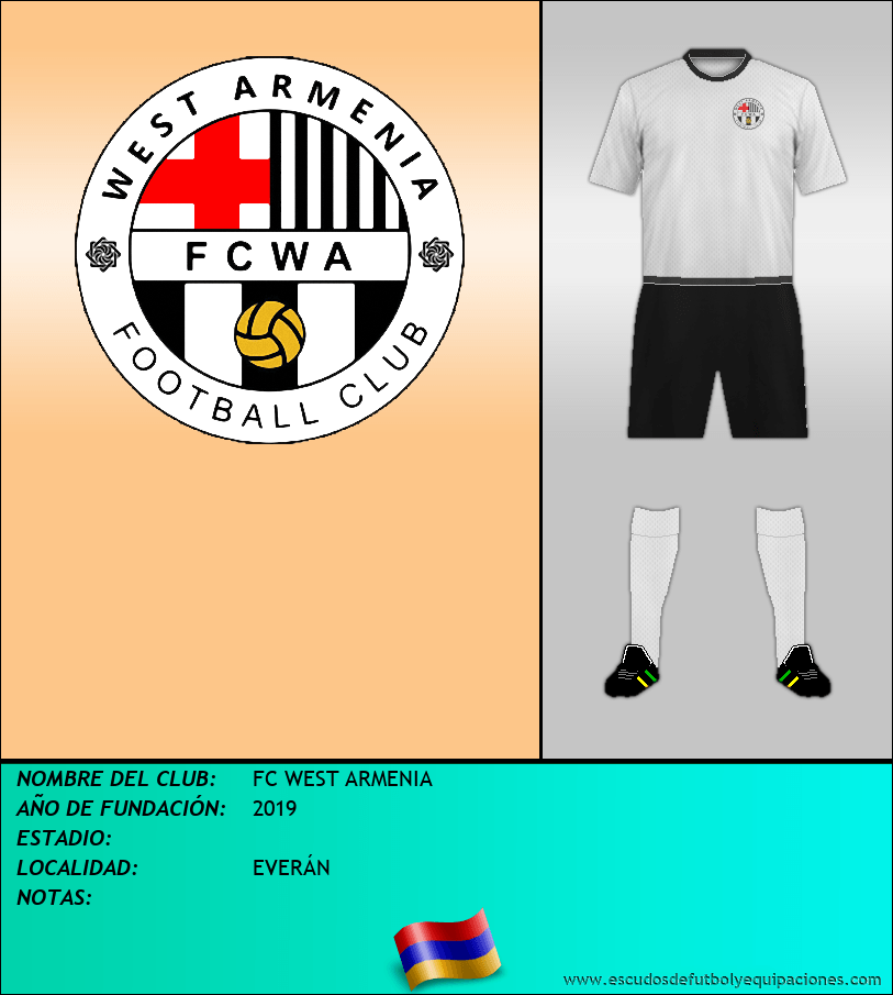 Escudo de FC WEST ARMENIA