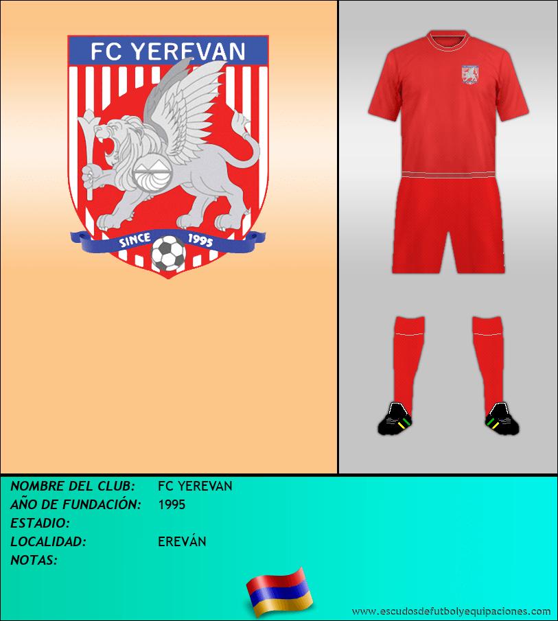 Escudo de FC YEREVAN