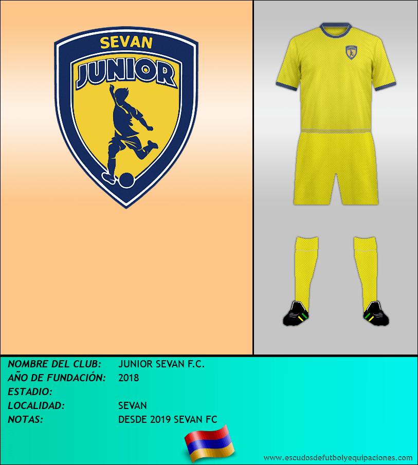 Escudo de JUNIOR SEVAN F.C.