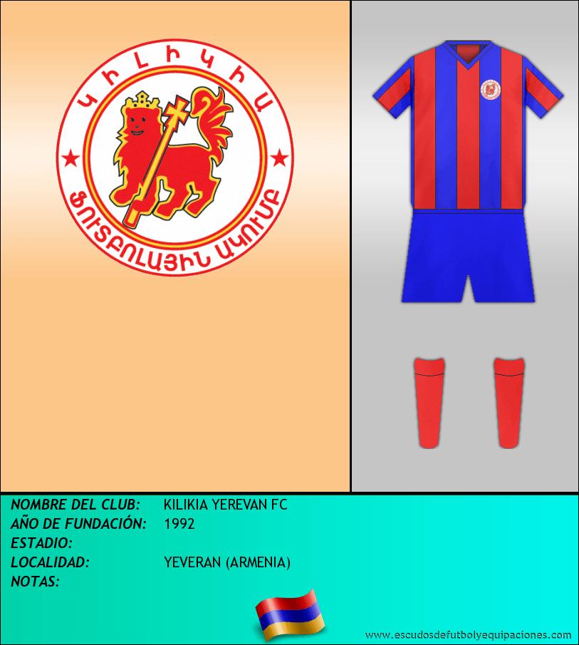 Escudo de KILIKIA YEREVAN FC