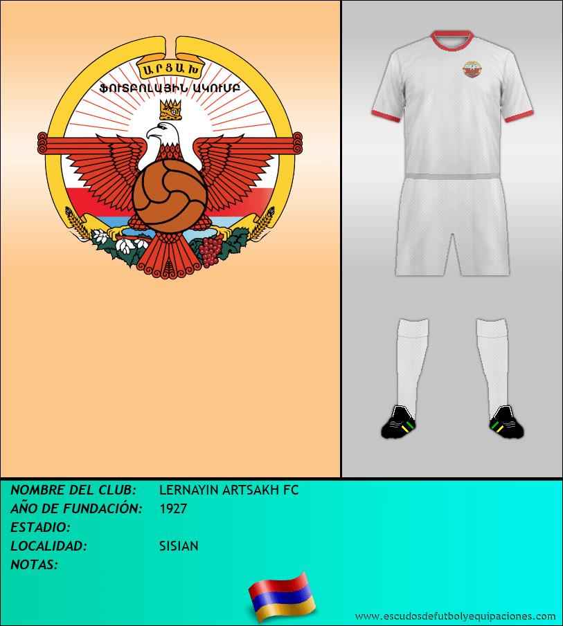 Escudo de LERNAYIN ARTSAKH FC