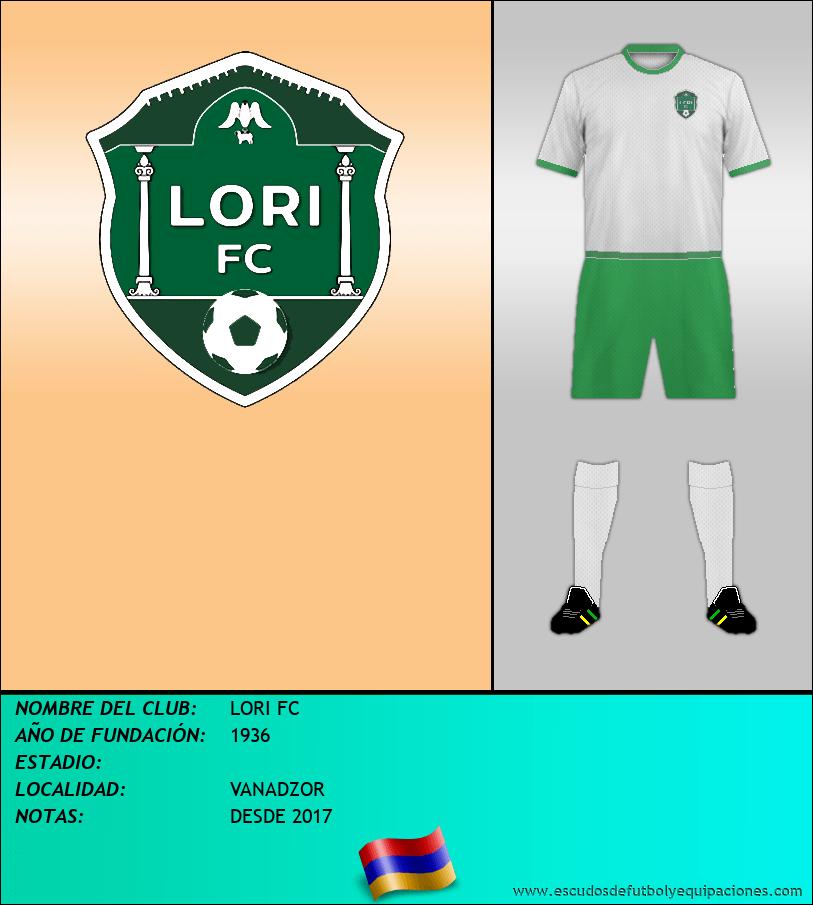 Escudo de LORI FC
