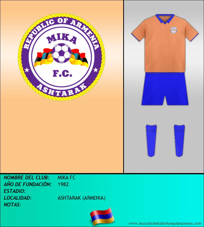 Escudo de MIKA FC