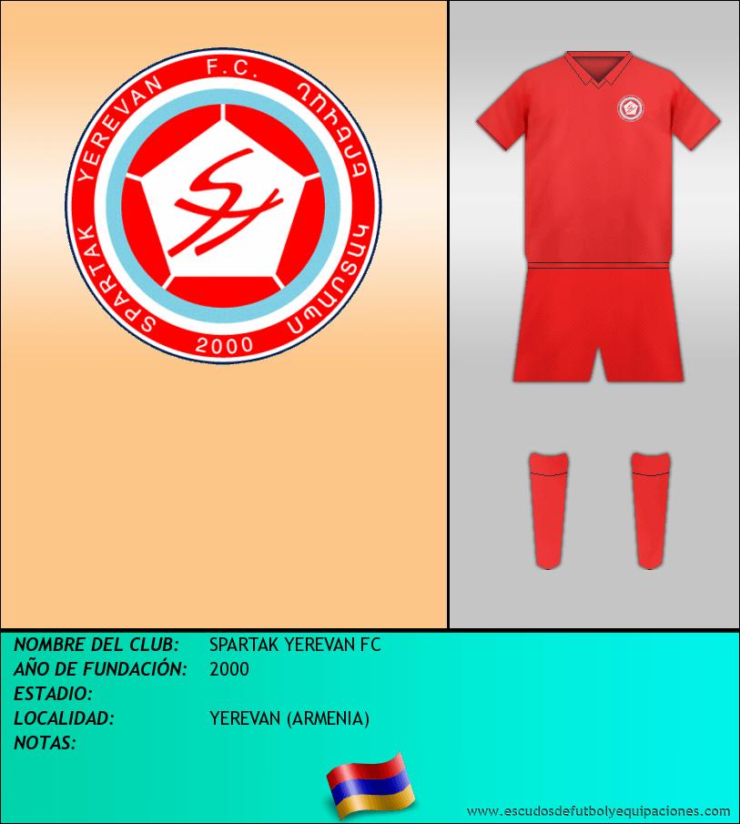 Escudo de SPARTAK YEREVAN FC