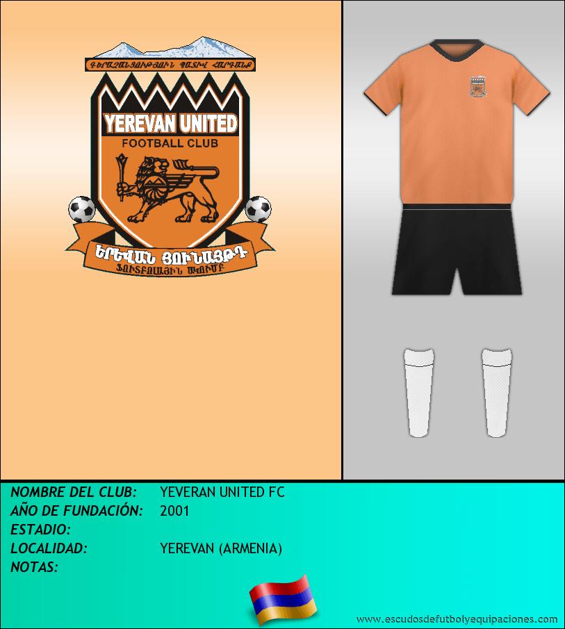 Escudo de YEVERAN UNITED FC
