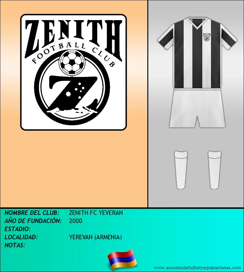 Escudo de ZENITH FC YEVERAN