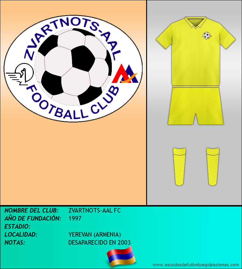 Escudo de ZVARTNOTS-AAL FC