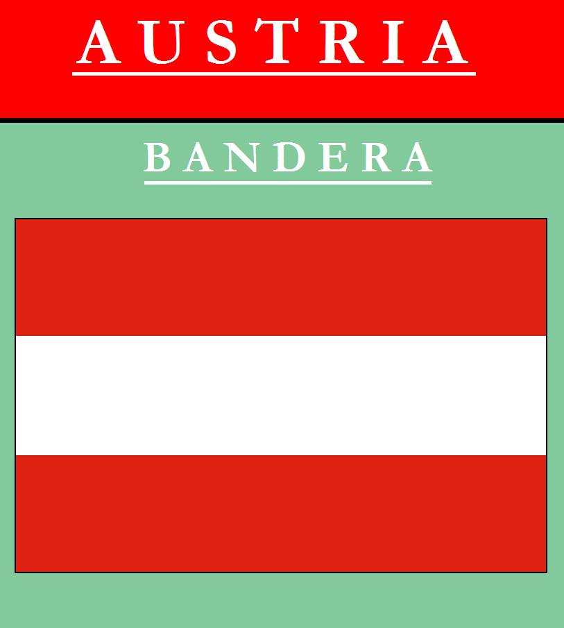 Escudo de BANDERA DE AUSTRIA