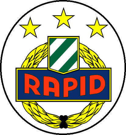 Escudo de RAPID DE VIENA (AUSTRIA)