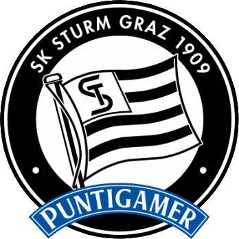 Escudo de SK STURM GRAZ -2- (AUSTRIA)