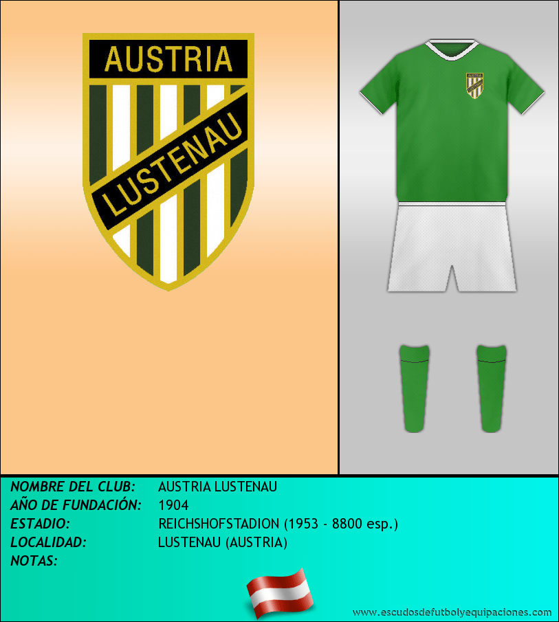 Escudo de AUSTRIA LUSTENAU