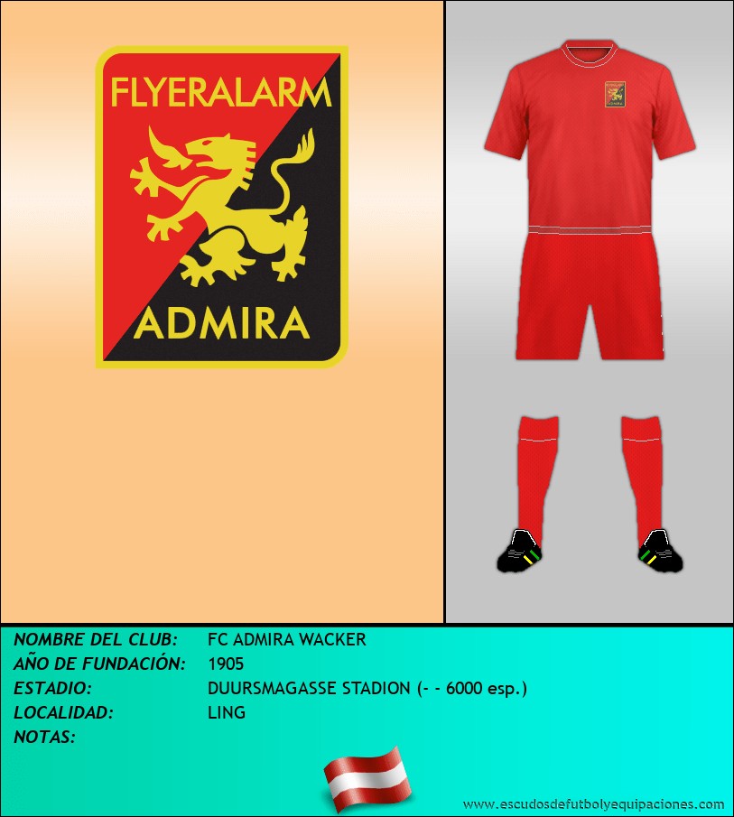 Escudo de FC ADMIRA WACKER
