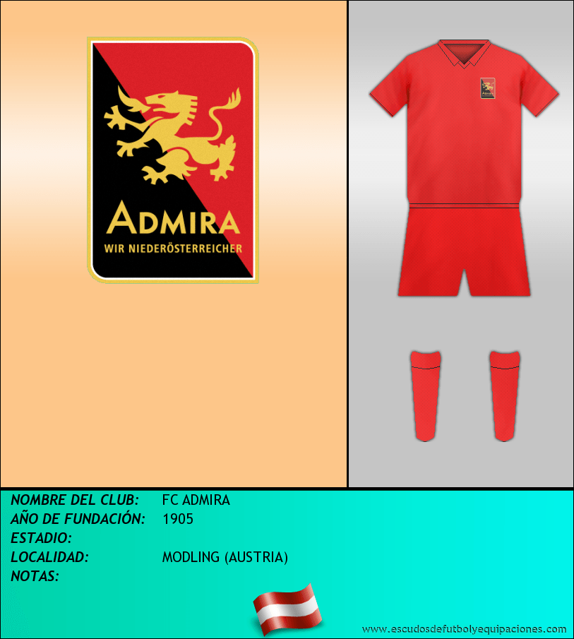 Escudo de FC ADMIRA