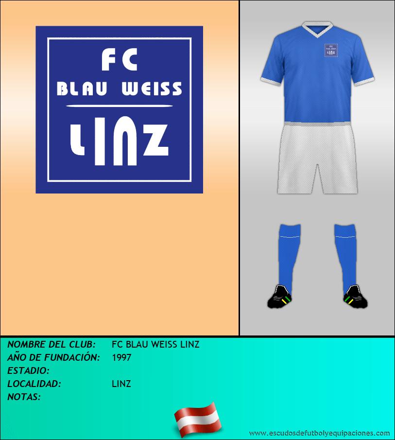 Escudo de FC BLAU WEISS LINZ