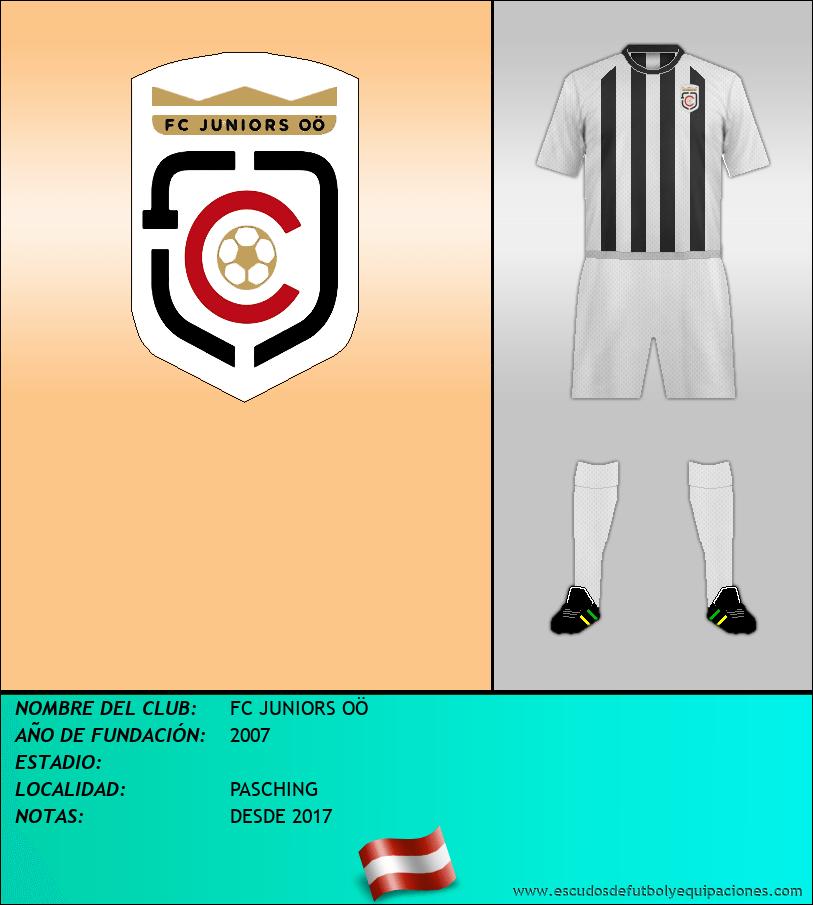 Escudo de FC JUNIORS OÖ