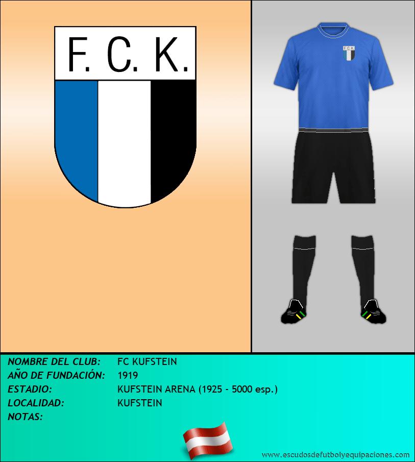 Escudo de FC KUFSTEIN