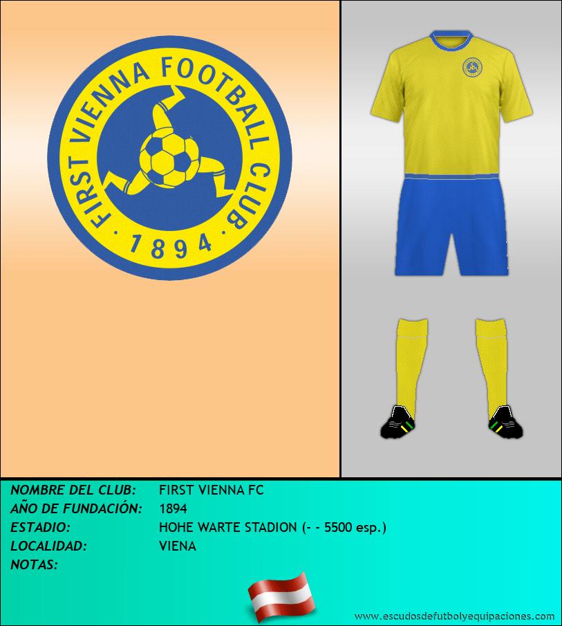 Escudo de FIRST VIENNA FC