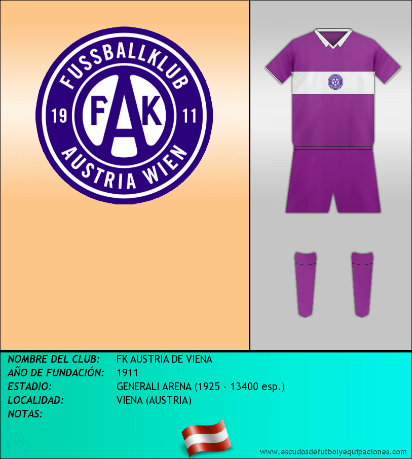 Escudo de FK AUSTRIA DE VIENA