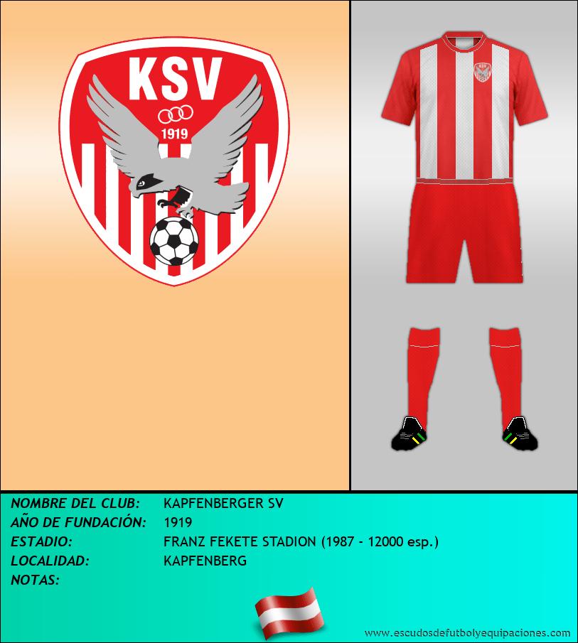 Escudo de KAPFENBERGER SV