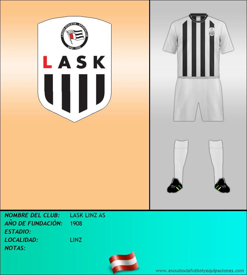 Escudo de LASK LINZ AS