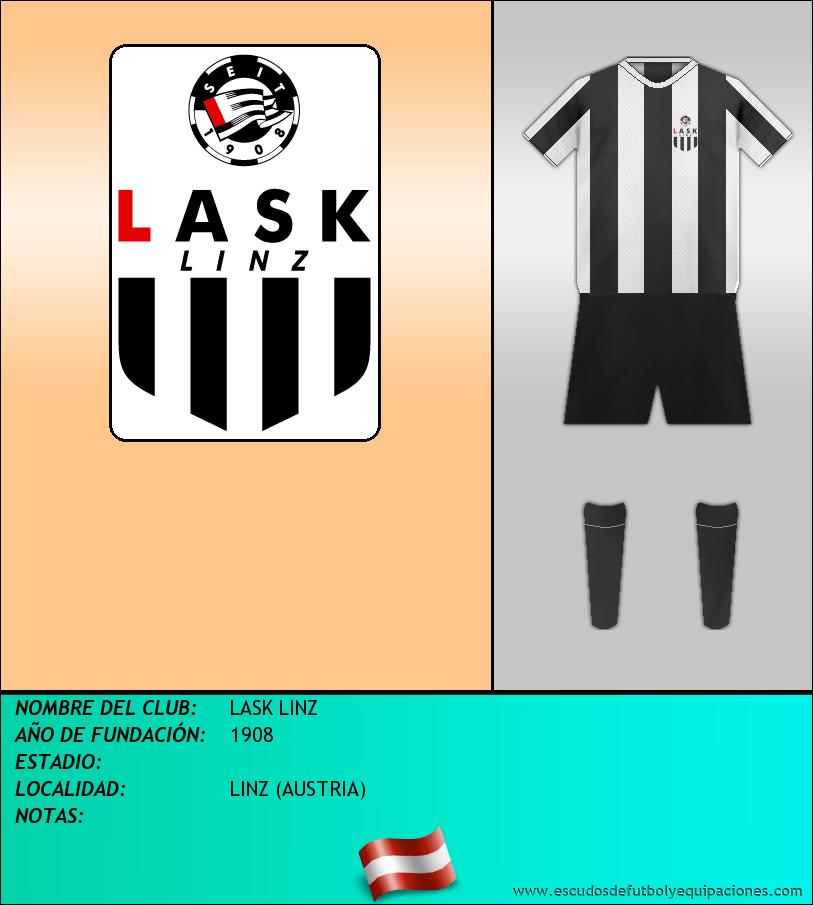 Escudo de LASK LINZ