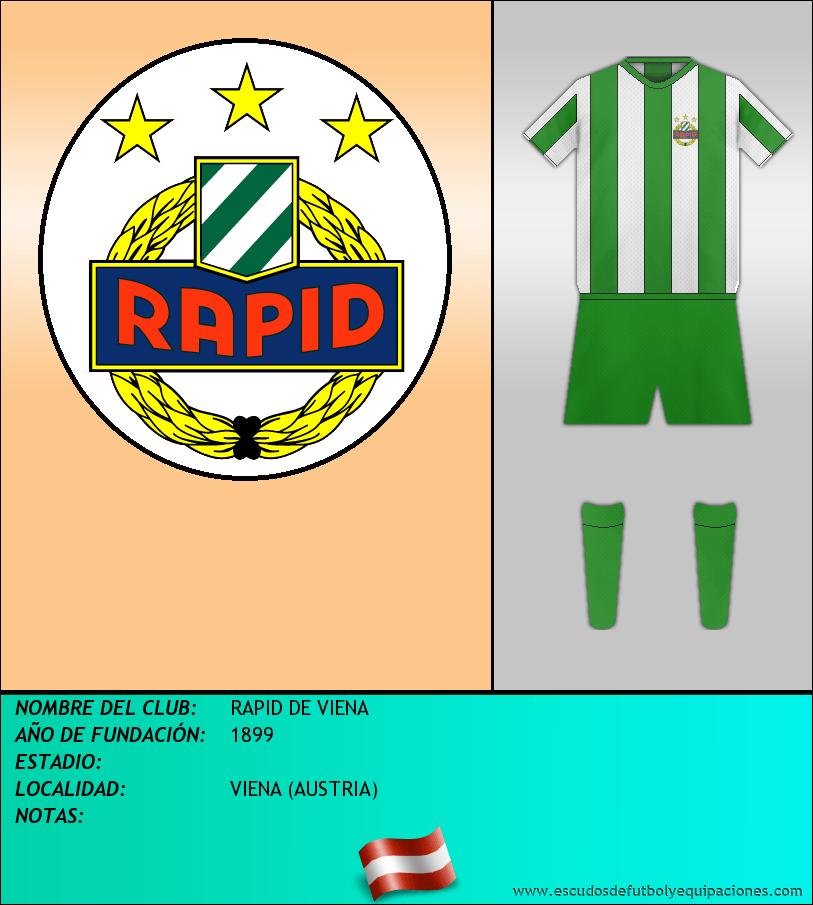 Escudo de RAPID DE VIENA