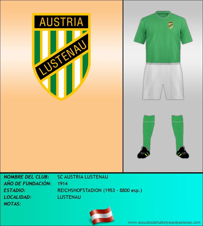 Escudo de SC AUSTRIA LUSTENAU