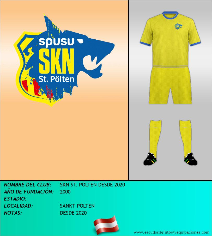 Escudo de SKN ST. PÖLTEN DESDE 2020