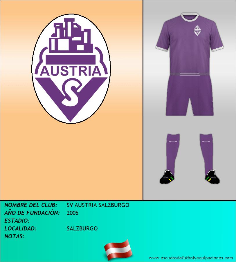 Escudo de SV AUSTRIA SALZBURGO