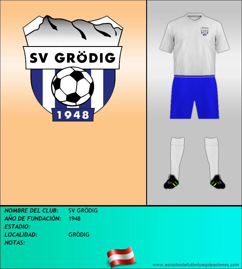 Escudo de SV GRÖDIG
