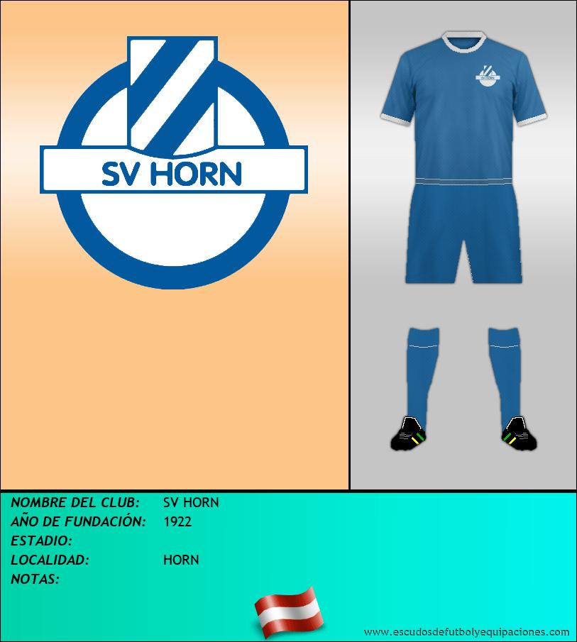 Escudo de SV HORN