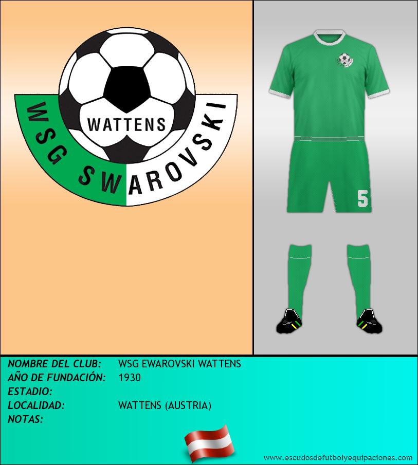 Escudo de WSG EWAROVSKI WATTENS
