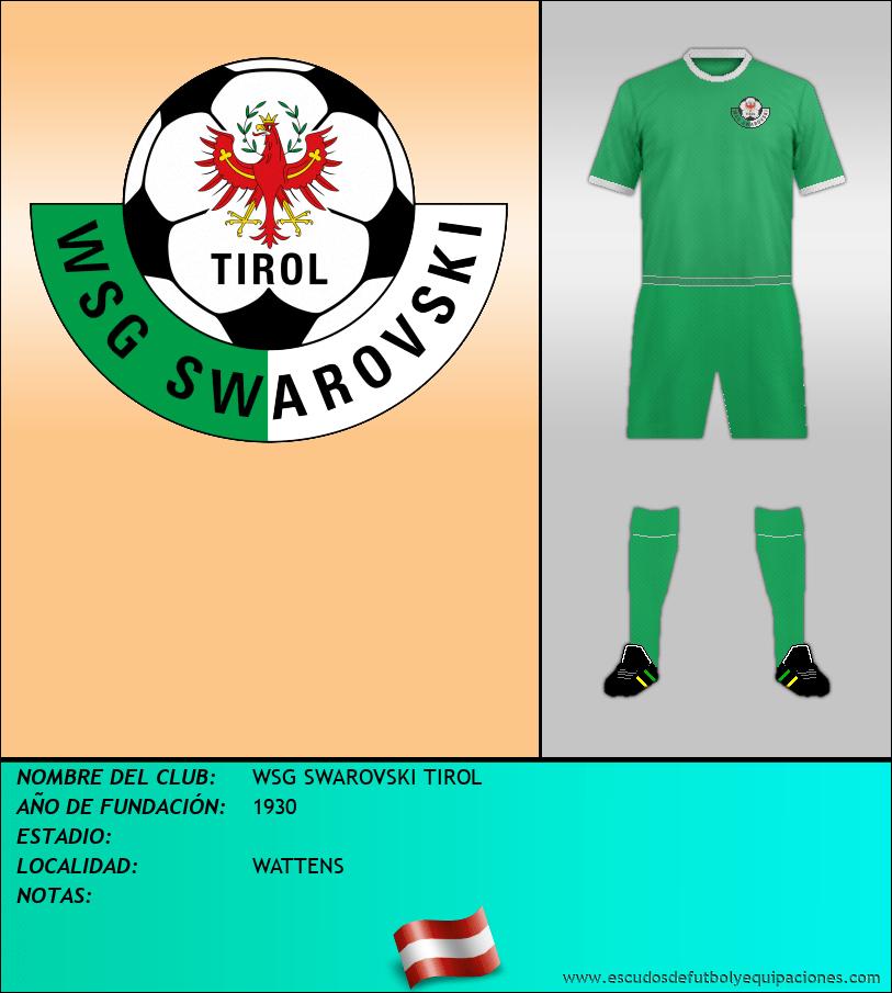 Escudo de WSG SWAROVSKI TIROL