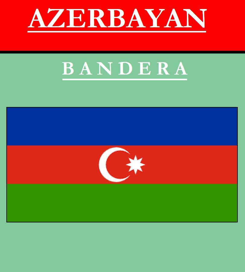 Escudo de BANDERA DE AZERBAIYÁN