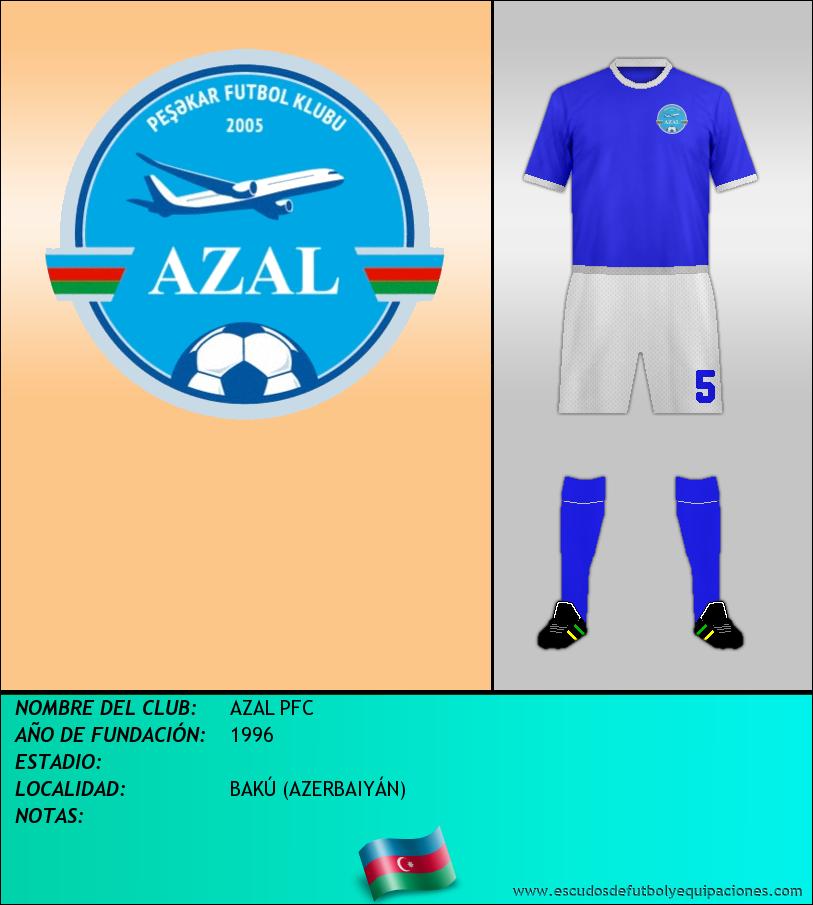 Escudo de AZAL PFC
