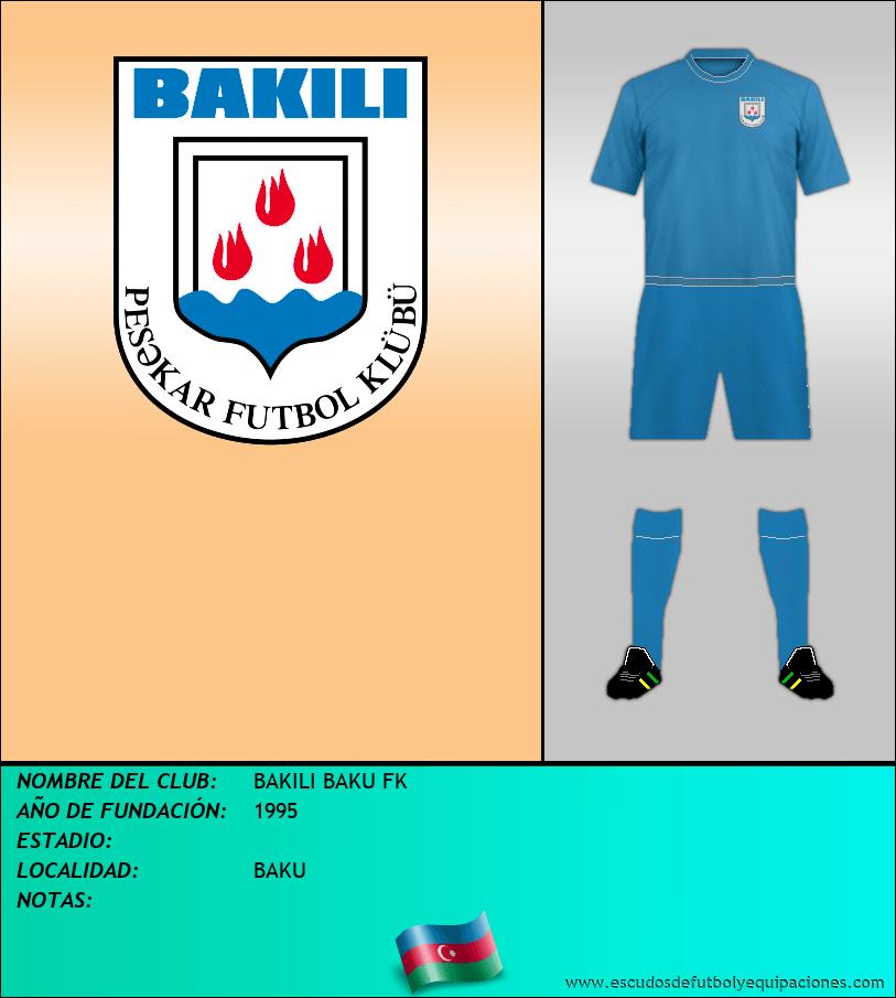 Escudo de BAKILI BAKU FK