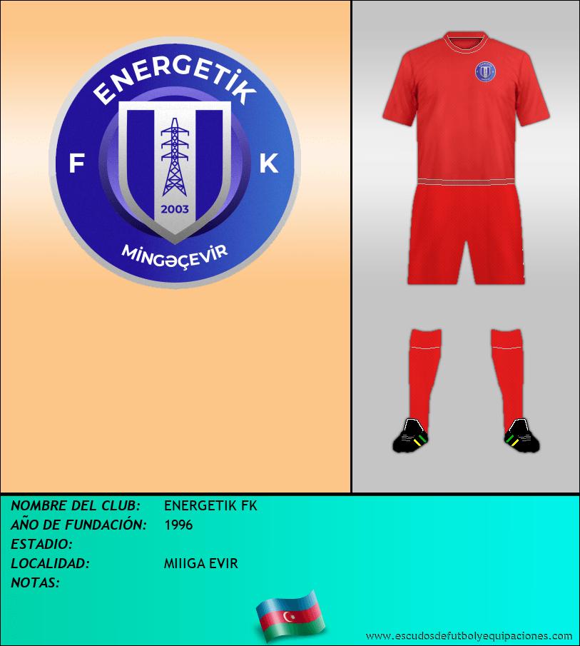 Escudo de ENERGETIK FK