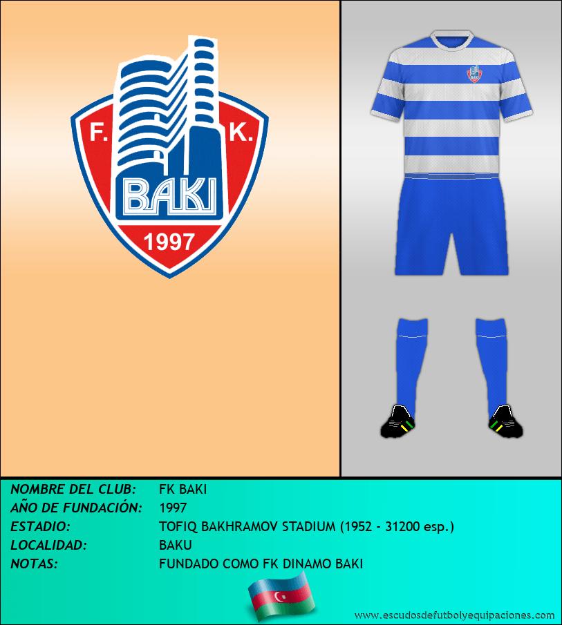 Escudo de FK BAKI