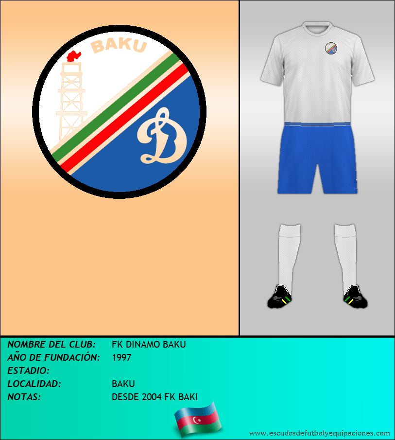 Escudo de FK DINAMO BAKU