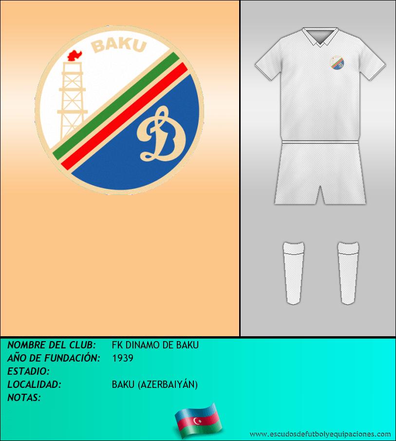 Escudo de FK DINAMO DE BAKU