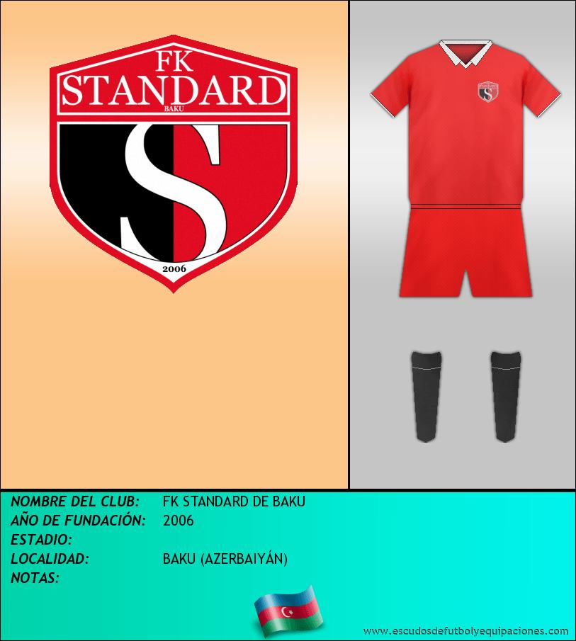 Escudo de FK STANDARD DE BAKU