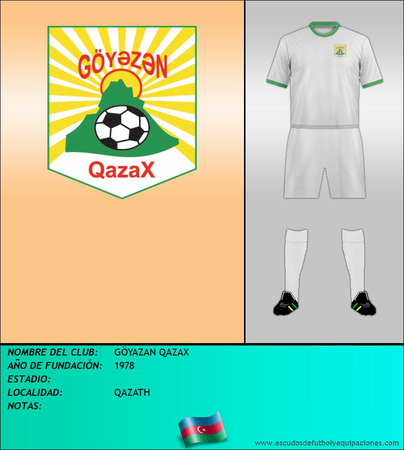 Escudo de GÖYAZAN QAZAX