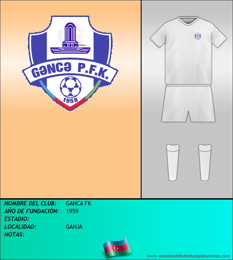Escudo de GANCA FK