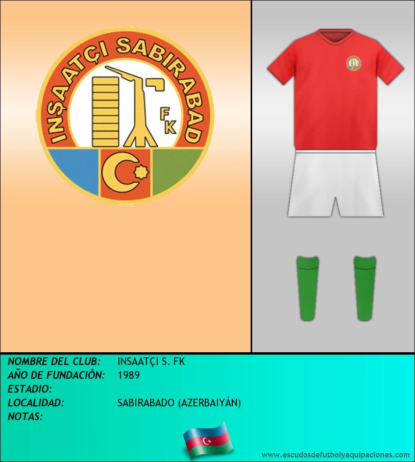 Escudo de INSAATÇI S. FK