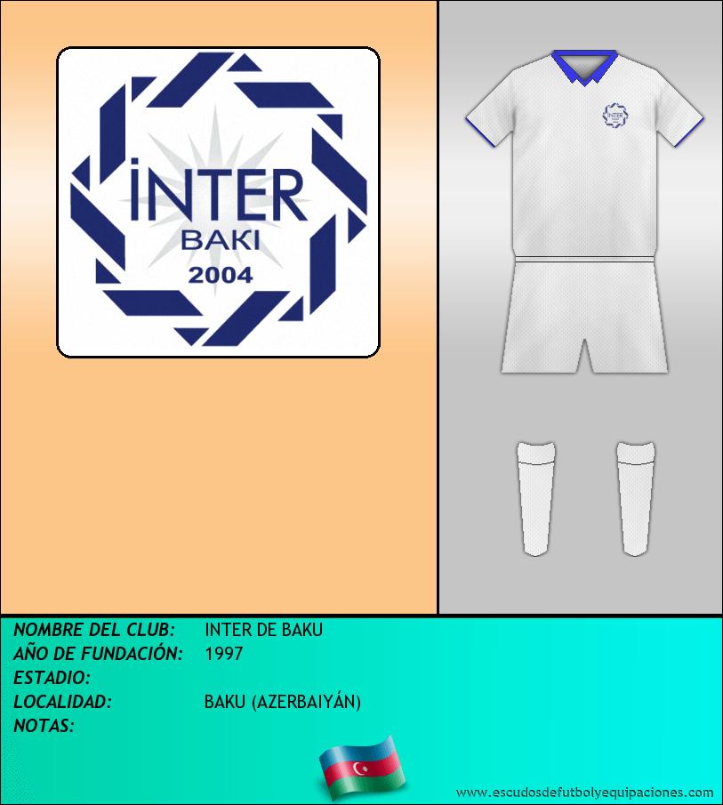 Escudo de INTER DE BAKU