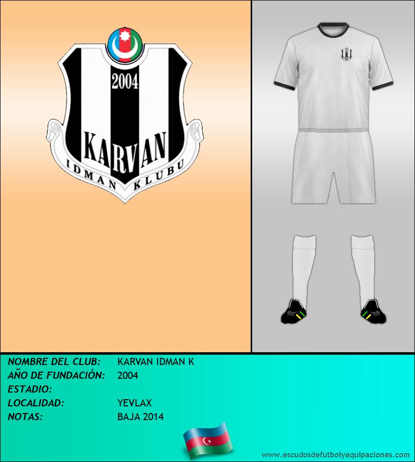 Escudo de KARVAN IDMAN K